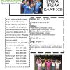Spring Break Daycamp Program