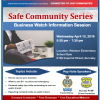 Business Watch & Transit Police Information Session