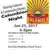 Sharing Cultures – Colombian Night