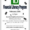 TD Financial Literacy Workshop