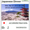 South House Japanese Sharing Cultures Dinner-Sept 27