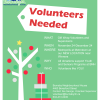 Volunteers for Gift Wrap Fundraiser