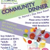 St.Patrick Day Community Dinner