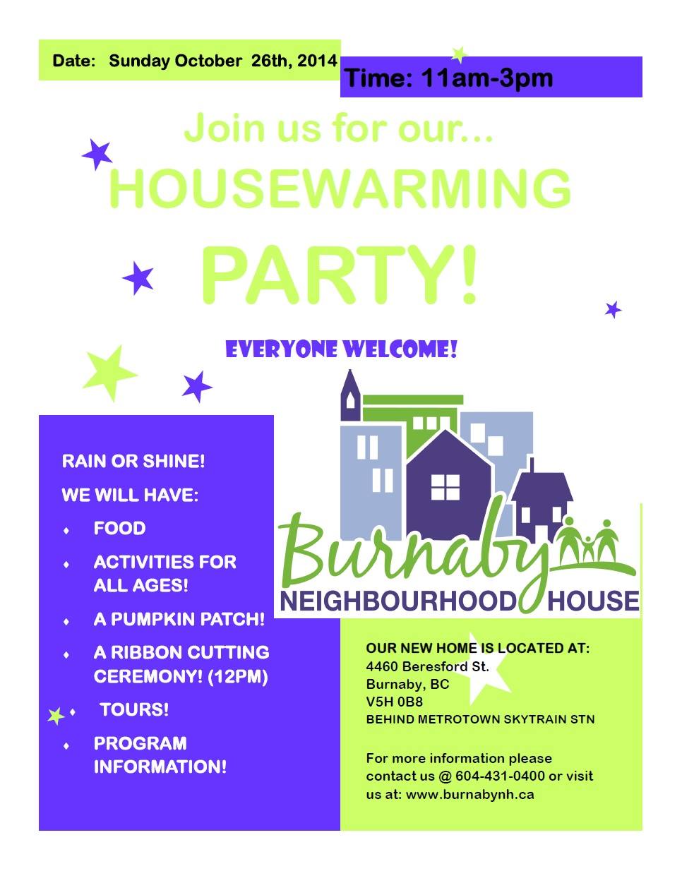 BNH House Warming