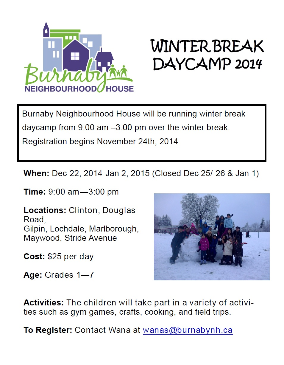 Winter Break Poster-2014