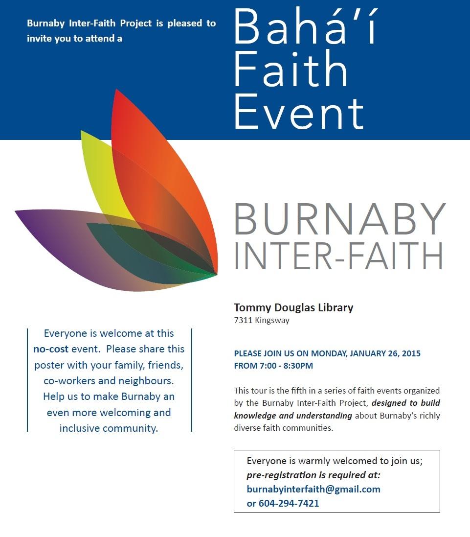 Bahai Faith Event