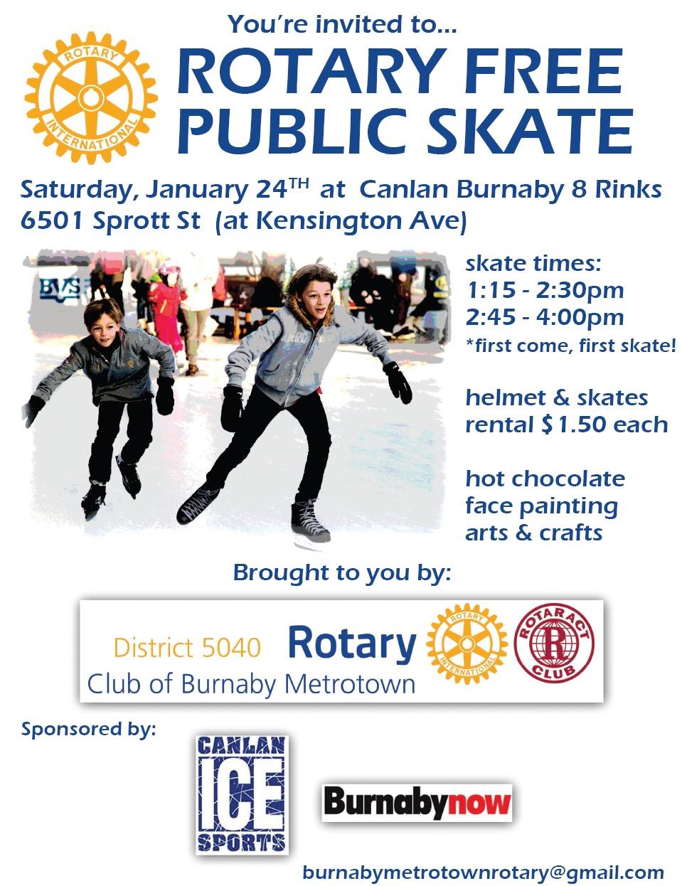 Rotary-free-public-skate