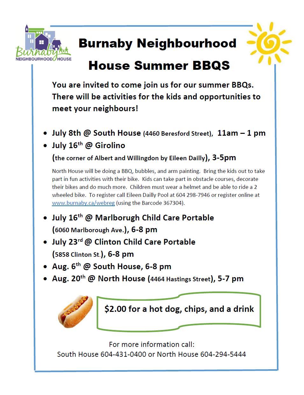 Summer BBQ's Flyer-2015