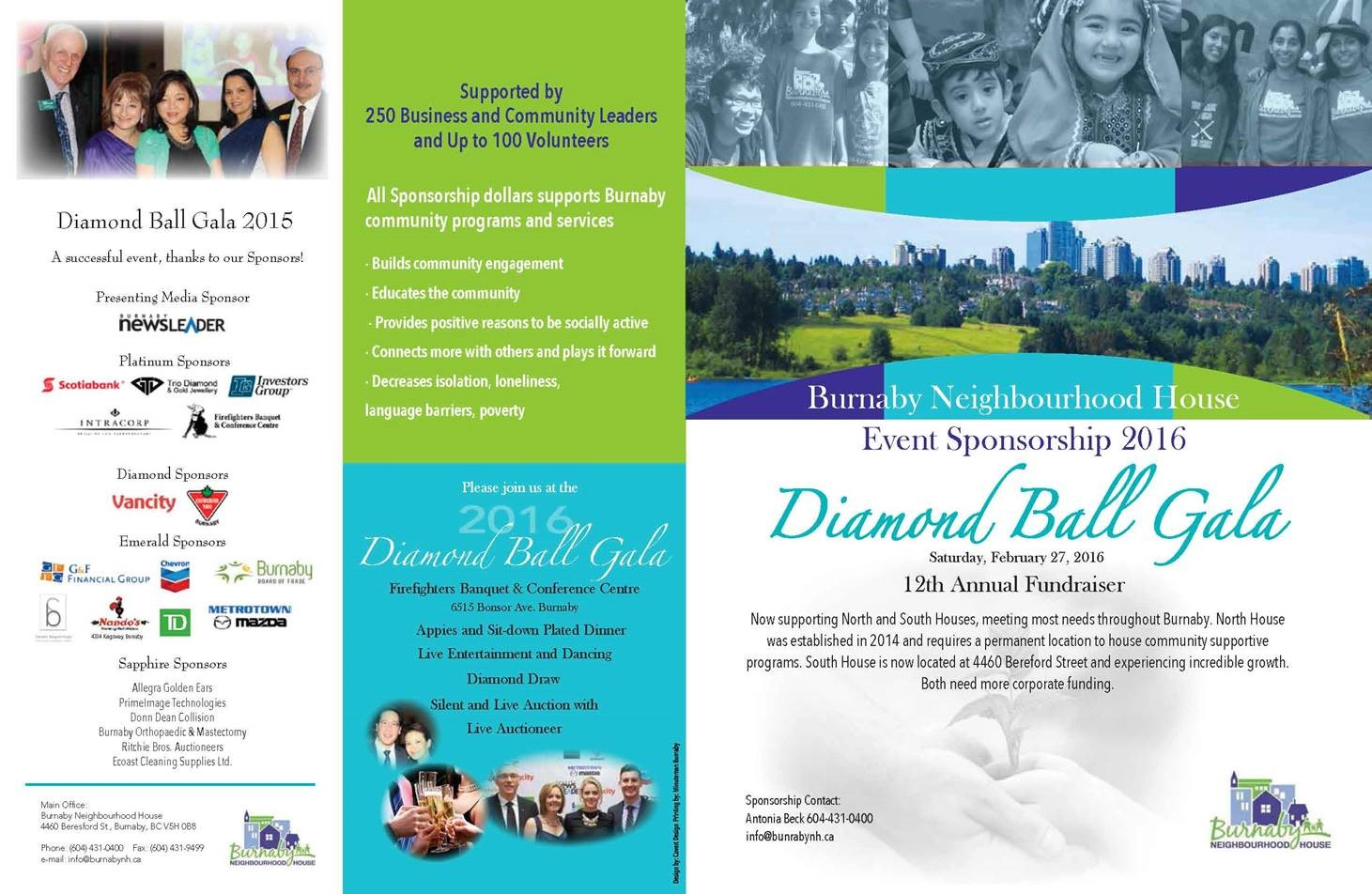 Diamond Ball Brochure
