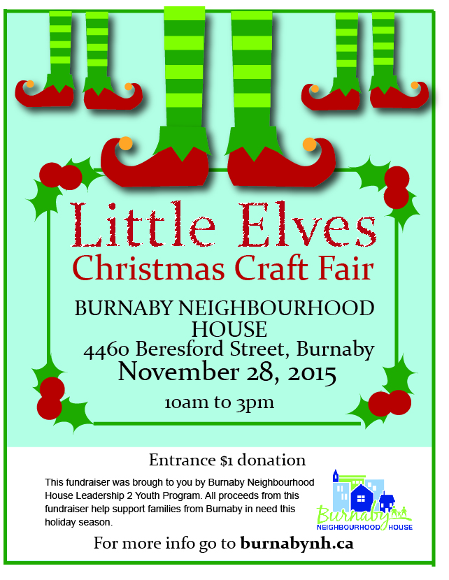 Burnaby Christmas Craft Fair