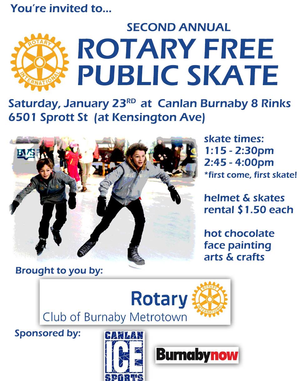 Rotary Family Skate Day