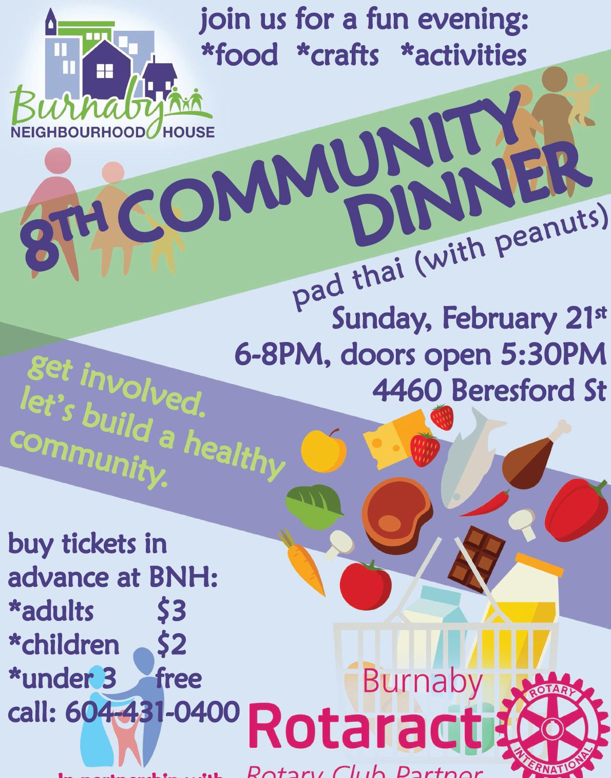 Community Dinner-Feb-2016