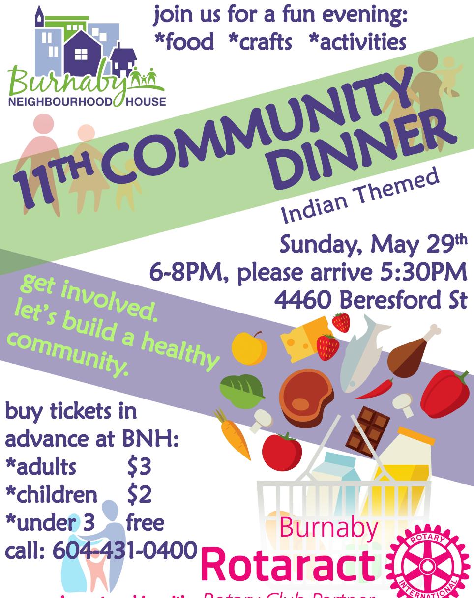 Community Dinner-May-2016