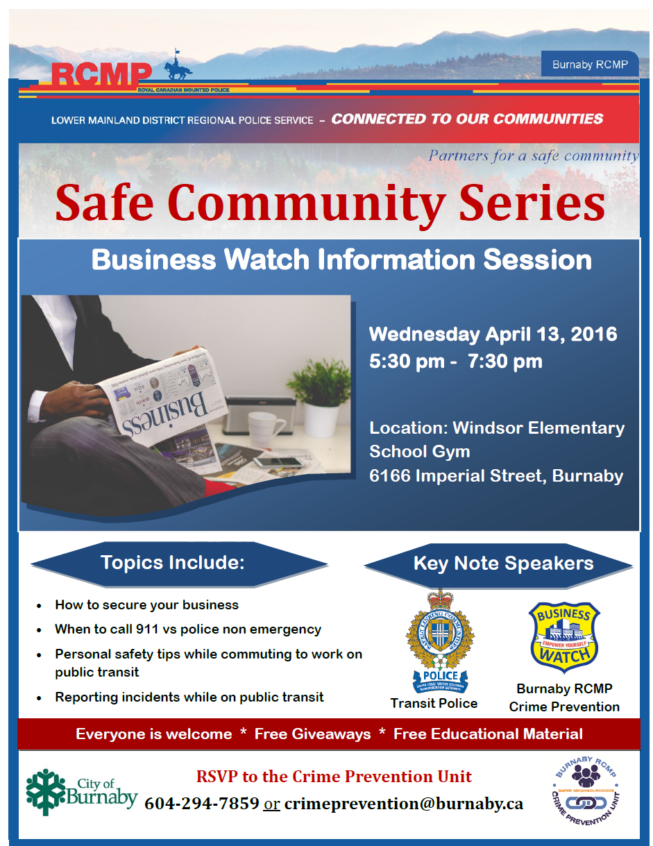 Safe Community Series