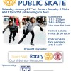 Rotary Free Public Skate Event