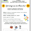 Spring is in the Air Community Dinner