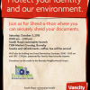 Join us for a Shred-a-Thon where you can securely shred your documents