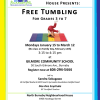 Free tumbling with Sandra Sokugawa – Gilmore Community School